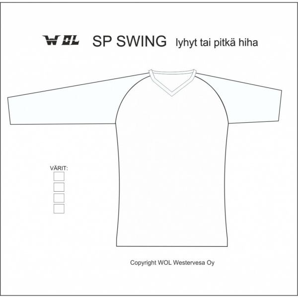 SP SWING piirrosmalli